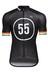 Bioracer EF 55 Pro Race Jersey korte mouwen Heren zwart